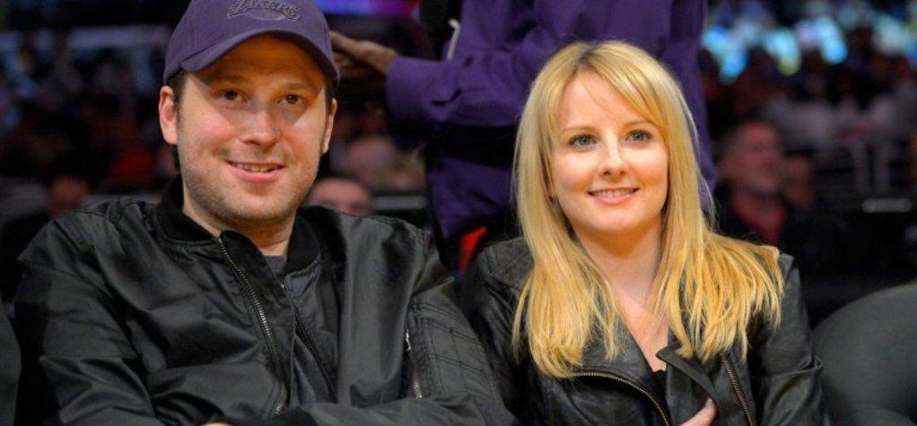 Winston Beigel with wife Melissa Rauch