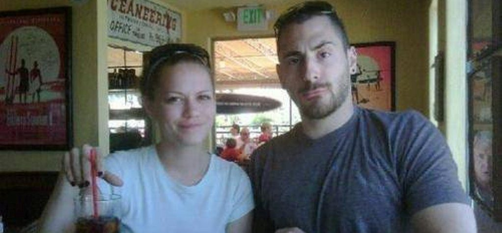 Michael Galeotti with his ex-wife