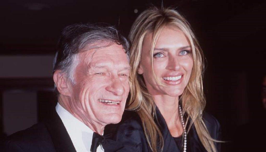 Kimberly Conrad and Hugh Hefner