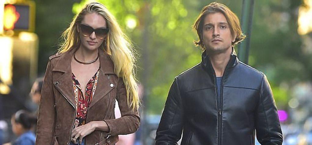 Hermann Nicoli with girlfriend