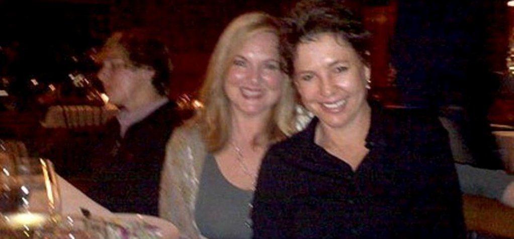 Martie Allen with her partner