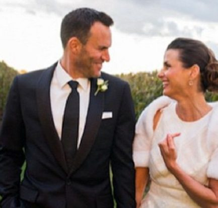 Looking ahead to combining their families! Bridget Moynahan and Andrew Frankel are going well in their married life.