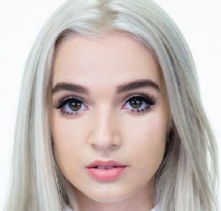 With no specific style of videos, Poppy Gained internet fame for her innocent, childlike appearance in music videos on YouTube!