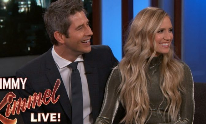 Lauren Burnham and Arie Luyendyk Jr. have fled to Iceland! The unlikely twist to the Bachelor story!