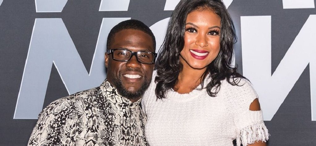 Eniko Parrish with husband Kevin Hart