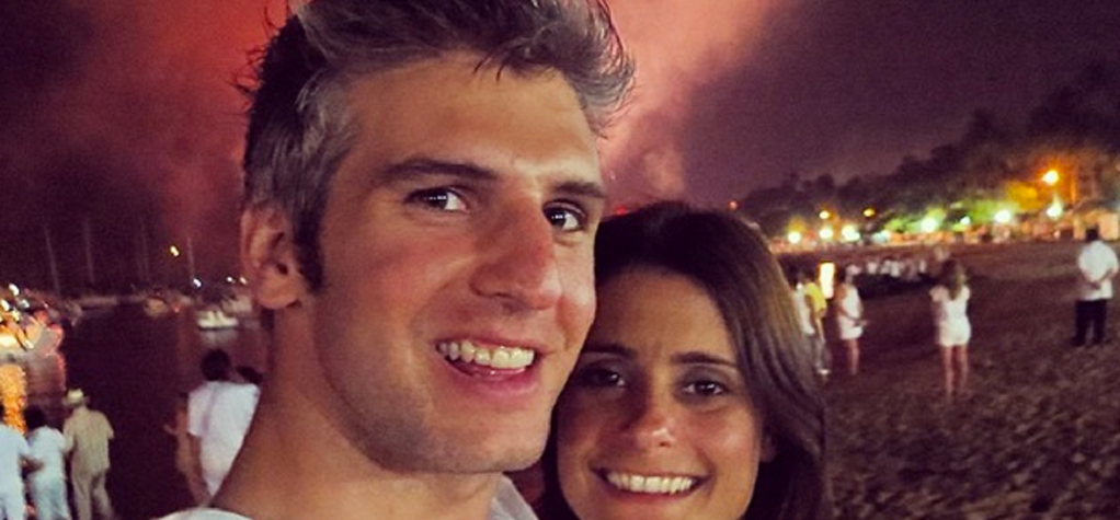 Max Joseph with his wife Priscila Joseph