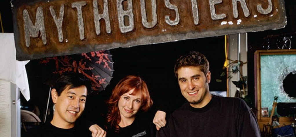 The hosts of MythBvusters