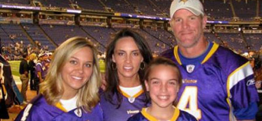 Brittany Favre and her family