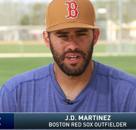 How old is J D Martinez? Bio, Wiki, Career, Net Worth, Education, Contract, Wife, Childhood