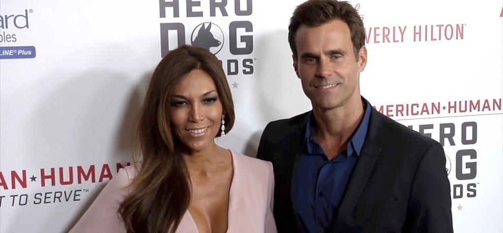 Vanessa Arevalo and her husband