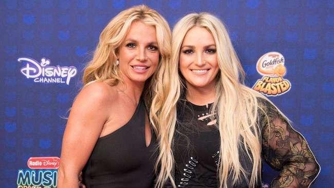 Jamie Lynn Spears with sister Britney Spears