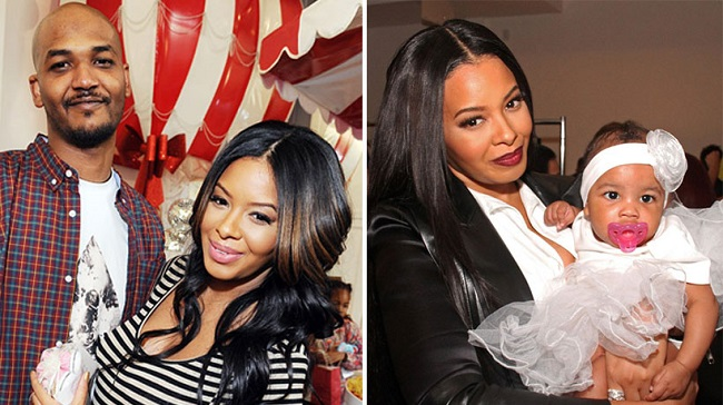 Vanessa Simmons with her family