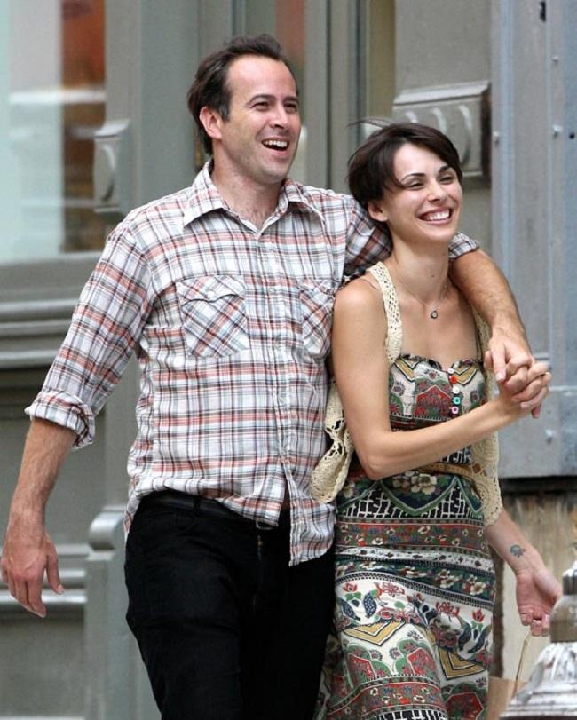 Ceren Alkac with her husband