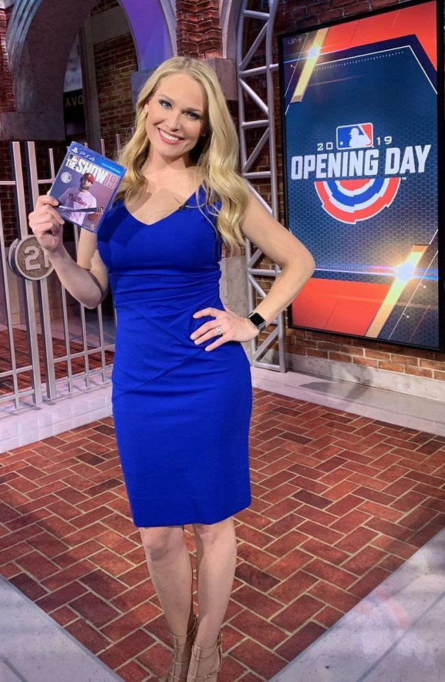 Heidi-Watney-at-NBA-opening-days