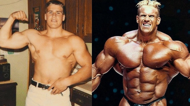 Jay Cutler before and now