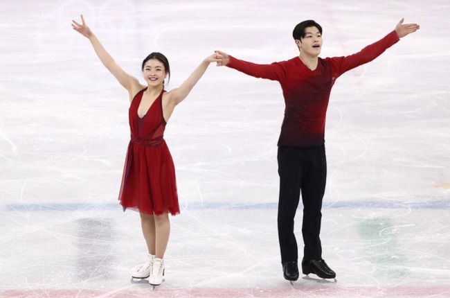 Maia Shibutani and Alex Shibutani in winter olympics