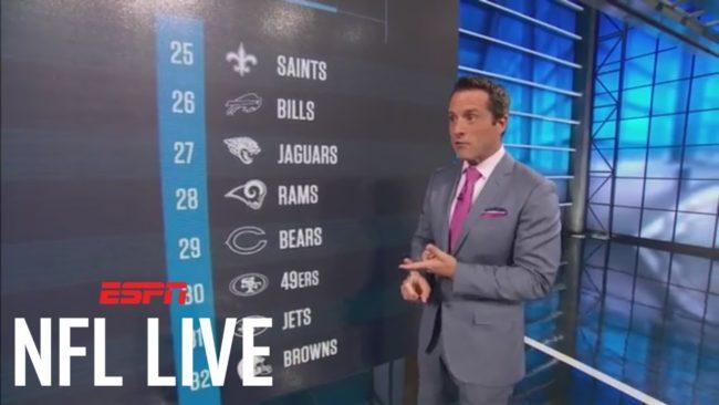 Dan Graziano in NFL live