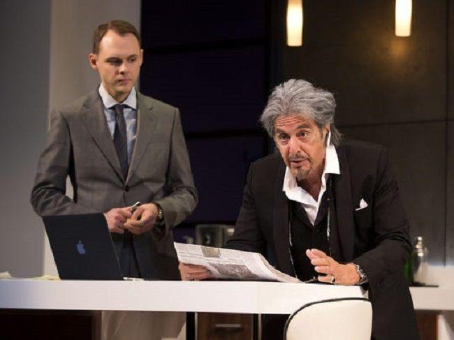Christopher Denham with Al Pacino