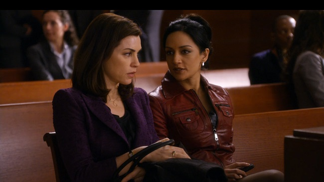 Julianna Margulies and Archie Panjabi Feuding