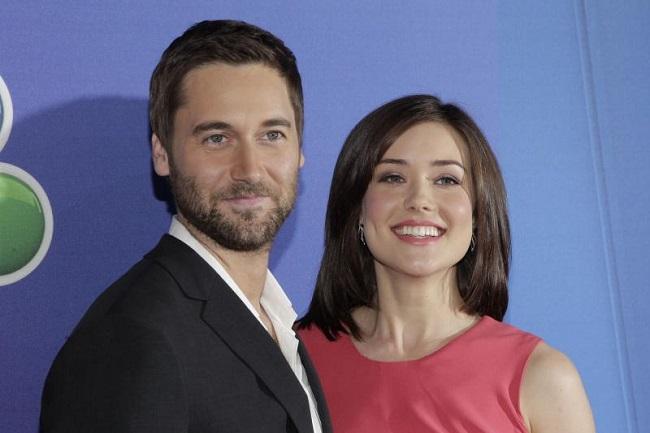 Megan with her partner Dan