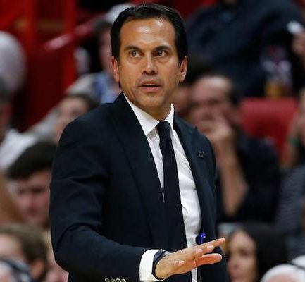 How old is Erik Spoelstra? Bio, Wiki, Career, Net Worth, Wife, Height, Family, Salary