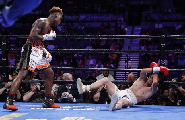 Jermell Charlo scores thunderous knockout win over Jorge