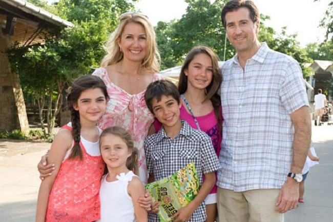 Kary Brittingham With her family