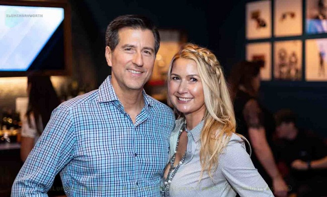 Kary Brittingham with her husband