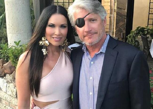 LeeAnne Locken with her husband
