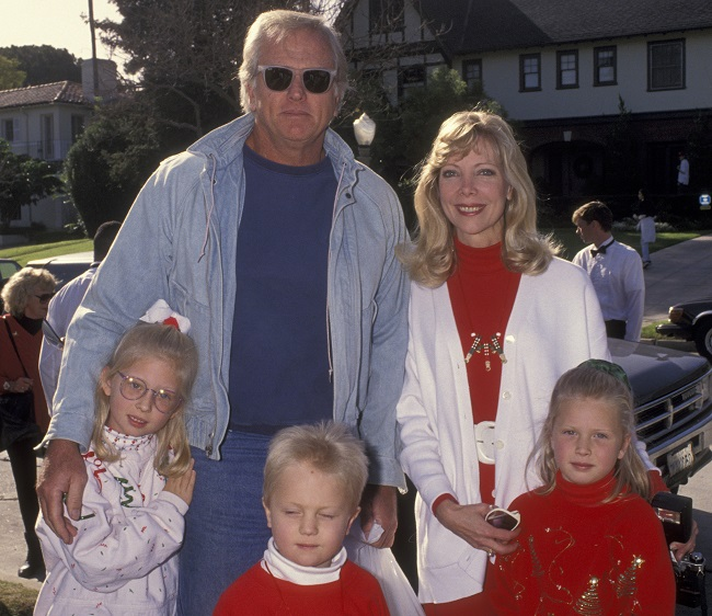 Ron with his family