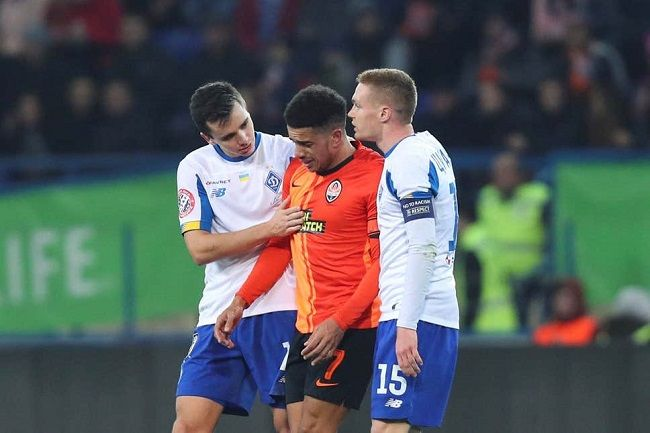 Taison in tears after racist chants