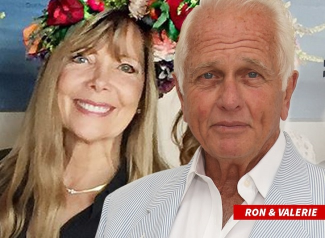 Valerie and Ron Ely