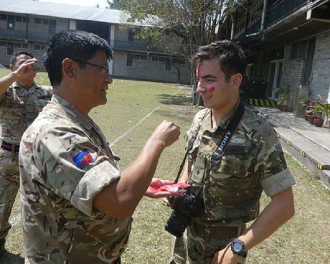 Benjamin Atkinson in Gurkha Army
