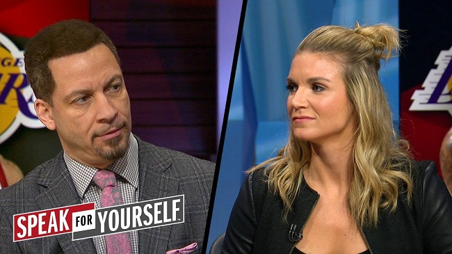 Chris Broussard and Allie Clifton
