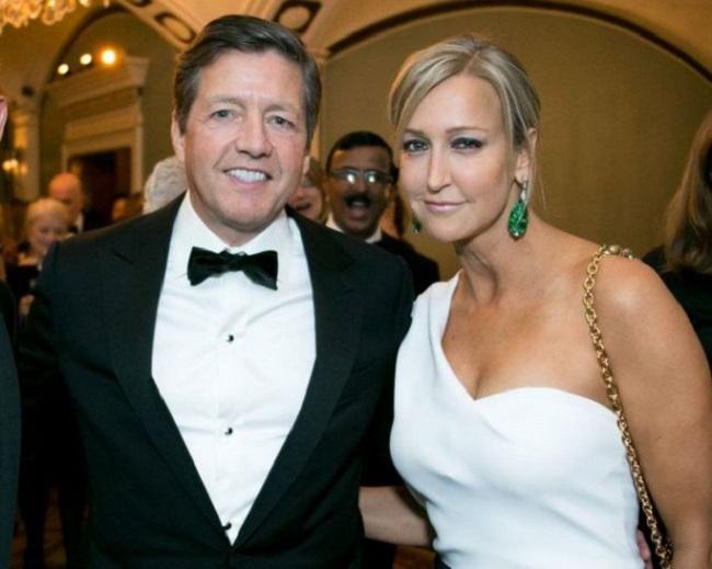 Lara Spencer and her husband