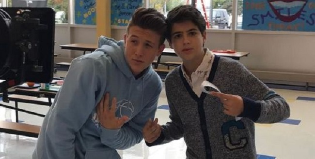 Luke Mullen and Joshua Rush