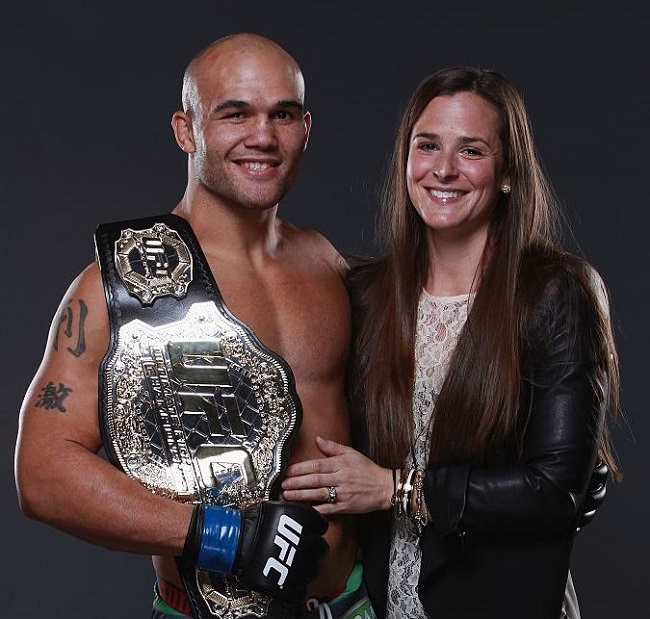 Robbie Lawler and Marcia