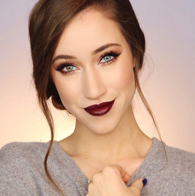 Allie Glines make-up