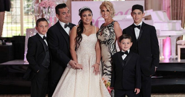 Buddy Valastro and his family