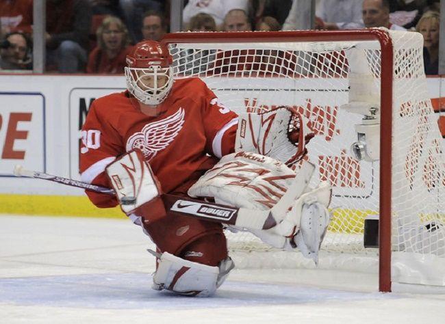 Chris Osgood Detroit Red Wings