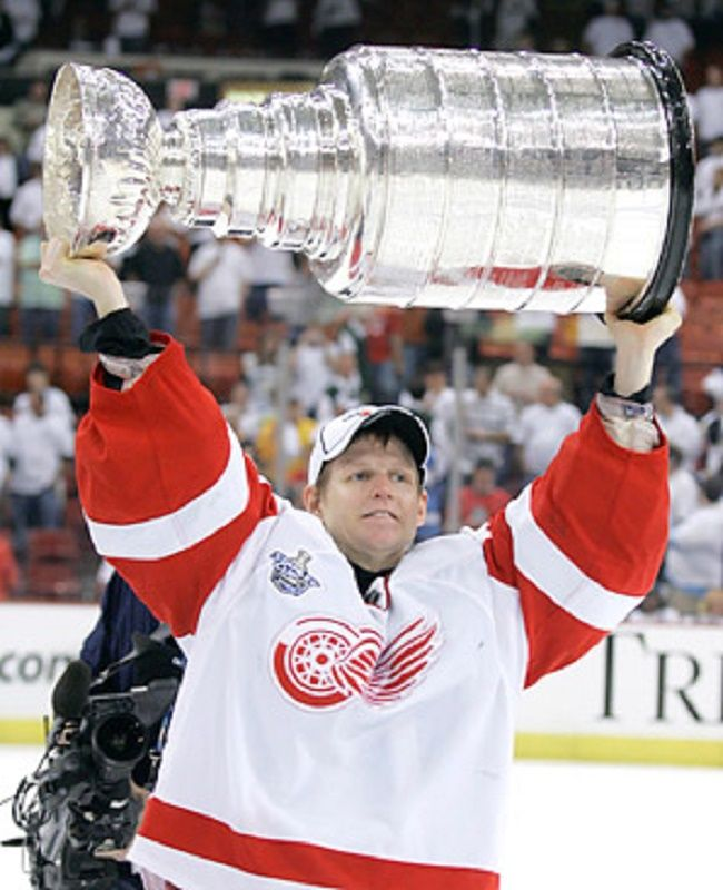 Chris Osgood Stanley Cup
