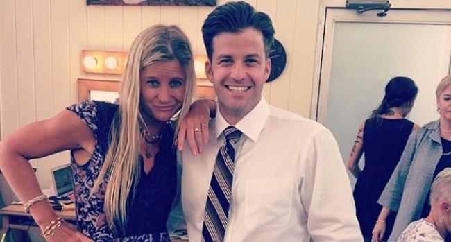 Johnny Devenanzio with his Ex-Girlfriend Hannah Teter