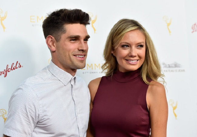 Melissa Ordway and her husband
