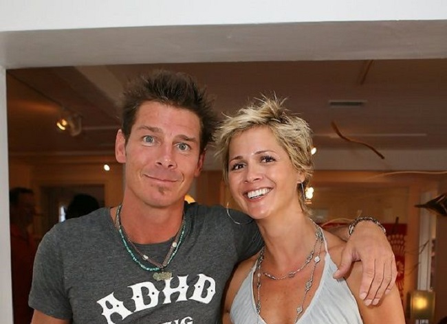 Ty Pennington and his girlfriend