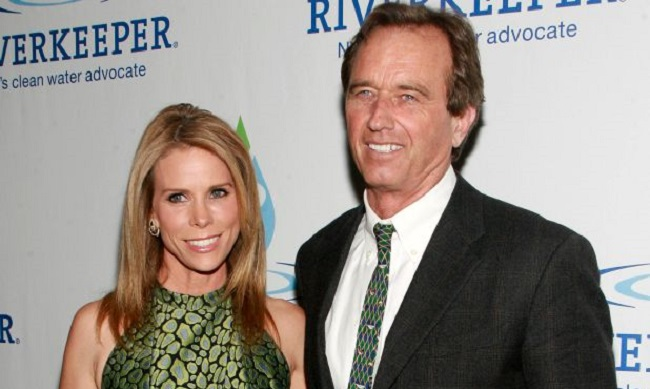 Cheryl Hines and her husband
