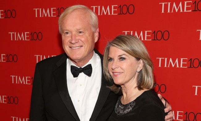 Chris Matthews and his wife