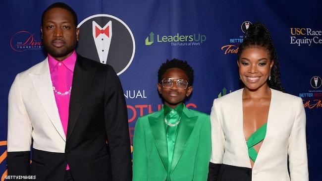 Dwyane, Gabrielle, and Zaya Wade Hit Red Carpet