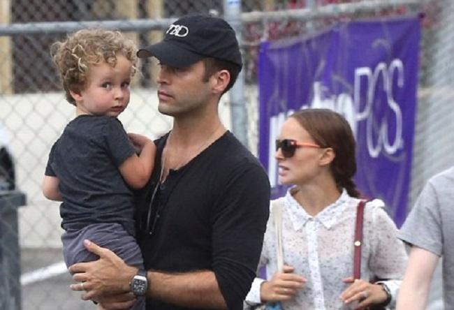 Aleph Portman Millipied and his parent