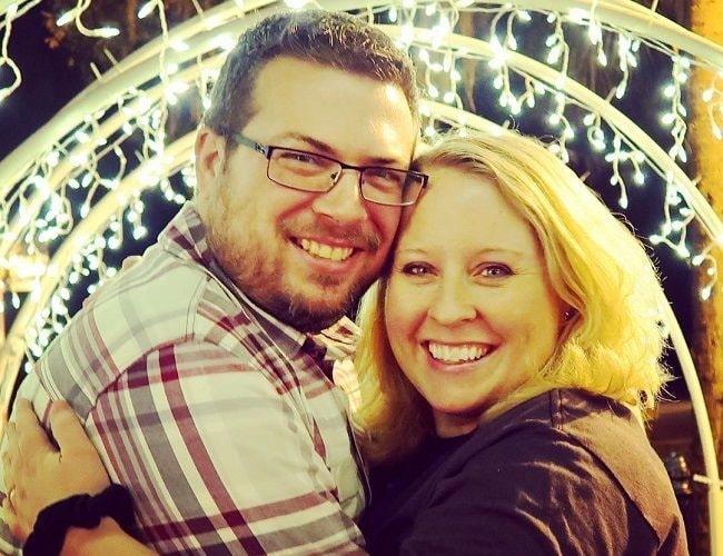 SallyGreenGamer and her husband