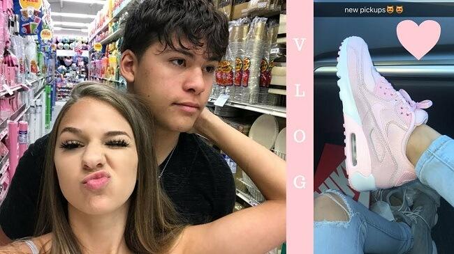 Tori with her boyfriend